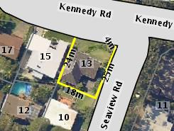 Aerial photo of 13 Kennedy Road Austinmer