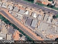 Aerial photo of 41 Ghan Road Alice Springs