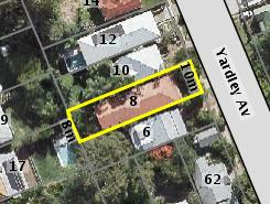 Aerial photo of 8 Yardley Avenue Ashgrove