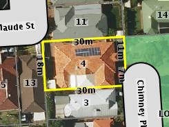 Aerial photo of 4 Chimney Place Allenby Gardens